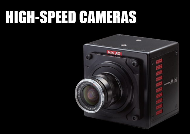 Photron High Speed Cameras for Slow Motion Analysis, FASTCAM, MINI ...